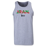 Iran 2014 FIFA World Cup Brazil(TM) Men's Palm Tank Top (Grey)