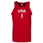 USA 2014 FIFA World Cup Brazil(TM) Men's Core Tank Top (Red)