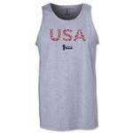 USA 2014 FIFA World Cup Brazil(TM) Men's Elements Tank Top (Grey)