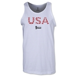 USA 2014 FIFA World Cup Brazil(TM) Men's Elements Tank Top (White)