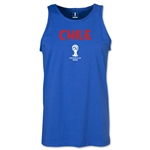 Chile 2014 FIFA World Cup Brazil(TM) Men's Core Tank Top (Royal)