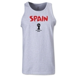 Spain 2014 FIFA World Cup Brazil(TM) Men's Core Tank Top (Ash)
