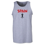 Spain 2014 FIFA World Cup Brazil(TM) Men's Core Tank Top (Grey)