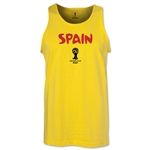 Spain 2014 FIFA World Cup Brazil(TM) Men's Core Tank Top (Yellow)