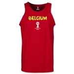 Belgium 2014 FIFA World Cup Brazil(TM) Men's Core Tank Top (Red)