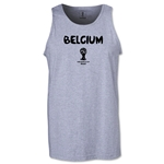 Belgium 2014 FIFA World Cup Brazil(TM) Men's Core Tank Top (Grey)