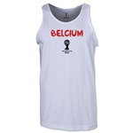Belgium 2014 FIFA World Cup Brazil(TM) Men's Core Tank Top (White)