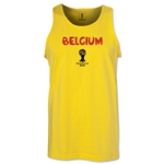 Belgium 2014 FIFA World Cup Brazil(TM) Men's Core Tank Top (Yellow)
