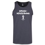 Bosnia-Herzegovina 2014 FIFA World Cup Brazil(TM) Men's Core Tank Top (Dark Grey)