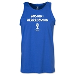 Bosnia-Herzegovina 2014 FIFA World Cup Brazil(TM) Men's Core Tank Top (Royal)