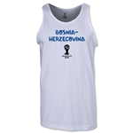 Bosnia-Herzegovina 2014 FIFA World Cup Brazil(TM) Men's Core Tank Top (White)