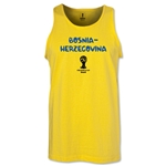 Bosnia-Herzegovina 2014 FIFA World Cup Brazil(TM) Men's Core Tank Top (Yellow)