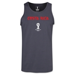 Costa Rica 2014 FIFA World Cup Brazil(TM) Men's Core Tank Top (Dark Grey)