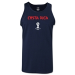 Costa Rica 2014 FIFA World Cup Brazil(TM) Men's Core Tank Top (Navy)