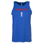 Costa Rica 2014 FIFA World Cup Brazil(TM) Men's Core Tank Top (Royal)
