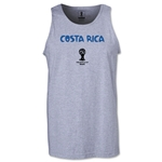 Costa Rica 2014 FIFA World Cup Brazil(TM) Men's Core Tank Top (Grey)