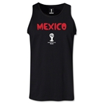 Mexico 2014 FIFA World Cup Brazil(TM) Men's Core Tank Top (Black)