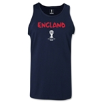 England 2014 FIFA World Cup Brazil(TM) Men's Core Tank Top (Navy)