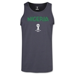 Nigeria 2014 FIFA World Cup Brazil(TM) Men's Core Tank Top (Dark Grey)