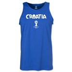 Croatia 2014 FIFA World Cup Brazil(TM) Men's Core Tank Top (Royal)