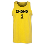 Ghana 2014 FIFA World Cup Brazil(TM) Men's Core Tank Top (Yellow)