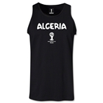 Algeria 2014 FIFA World Cup Brazil(TM) Men's Core Tank Top (Black)