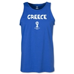 Greece 2014 FIFA World Cup Brazil(TM) Men's Core Tank Top (Royal)