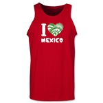 I Heart Mexico 2014 FIFA World Cup Brazil(TM) Men's Tank Top (Red)