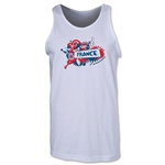 France 2014 FIFA World Cup Brazil(TM) Men's Celebration Tank Top (White)
