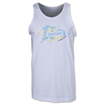 Uruguay 2014 FIFA World Cup Brazil(TM) Men's Celebration Tank Top (White)