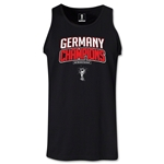 Germany 2014 FIFA World Cup Brazil(TM) Men's Champions Logotype Tank Top (Black)