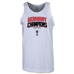 Germany 2014 FIFA World Cup Brazil(TM) Men's Champions Logotype Tank Top (White)