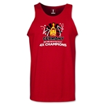 Germany 2014 FIFA World Cup Brazil(TM) Men's Champions Official Look Trophy Tank Top (Red)