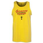 Germany 2014 FIFA World Cup Brazil(TM) Men's Champions Script Tank Top (Yellow)