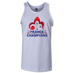 France FIFA U-20 World Cup 2013 Winners Tank Top (White)