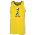 FIFA U-17 World Cup Chile 2015 Core Tank Top (Yellow)