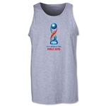 FIFA U-17 World Cup Chile 2015 Core Tank Top (Grey)