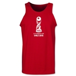 FIFA U-17 World Cup Chile 2015 Core Tank Top (Red)