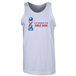 FIFA U-17 World Cup Chile 2015 Landscape Tank Top (White)