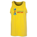 FIFA U-17 World Cup Chile 2015 Landscape Tank Top (Yellow)