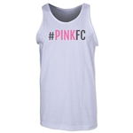Pink FC Men's Tank Top (White)