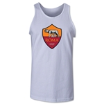 AS Roma Crest Tank Top (White)
