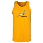 South Africa Springboks Men's Tank Top (Gold)