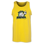 Rochester Rhinos Soccer Tank Top (Yellow)