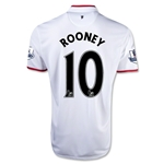 Manchester United 12/13 Wayne Rooney Away Soccer Jersey