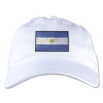 Argentina Unstructured Adjustable Cap (White)