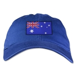 Australia Unstructured Adjustable Cap (Royal)