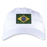 Brazil Unstructured Adjustable Cap (White)