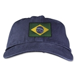 Brazil Unstructured Adjustable Cap (Navy)