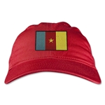 Cameroon Unstructured Adjustable Cap (Red)